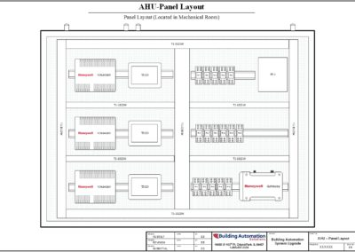 Detailed Drawings for Building Automation Systems in Chicago | HVAC | Hvac Controls Drawing Images |  | Building Automation Solutions